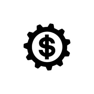 Money Gears Icon