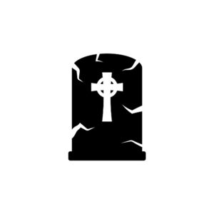 Halloween Tombstone Icon