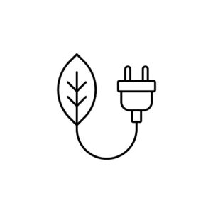 Eco Energy Icon